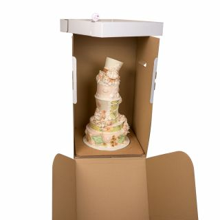 16 x 16 x 27 Inch Heavy Duty Cake TALL Transport Box