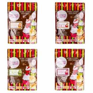 4 Delicious Sugar and Crumbs COCOA POWDERS