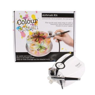 Colour Splash Cake Decorating Airbrush Kit