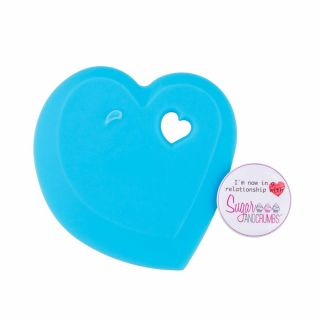 Bowl Scraper LOVE HEART Shape