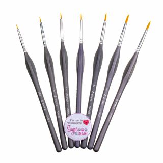Brushes Cake Art GREY Set of 7
