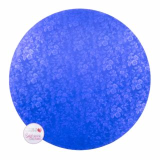 Cake Board Round BLUE Masonite 10 Inch