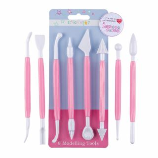 Cake Star Modelling Tools Pack of 8