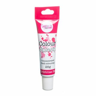 Colour Splash Food Colouring Gel CHRISTMAS RED 25g