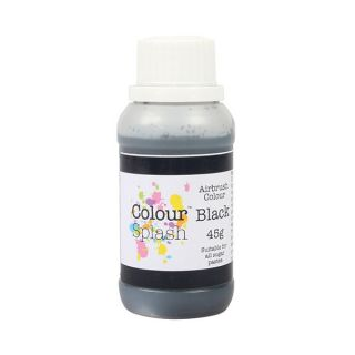 Colour Splash Airbrush Liquid Black