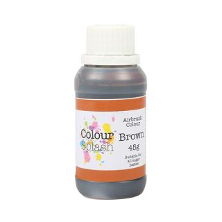 Colour Splash Airbrush Liquid Brown