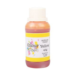 Colour Splash Airbrush Liquid Yellow