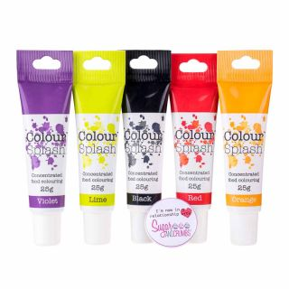 Colour Splash Food Colouring Gel HALLOWEEN BUNDLE