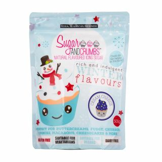 Sugar and Crumbs Natural Flavoured Icing Sugar CREAM CHEESE 500g
