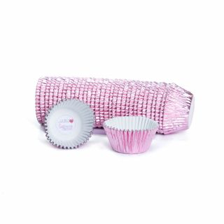 CULPITT Cupcake Cases Foil PINK Pack of 495