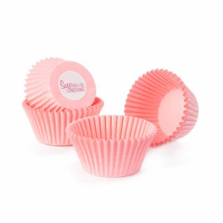 Cake Star Cupcake Cases PINK Pack of 50