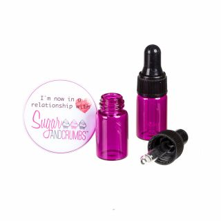 Dropper Bottles Refillable 5ml Pack of 2