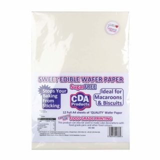 Edible Wafer Paper Pack of 12
