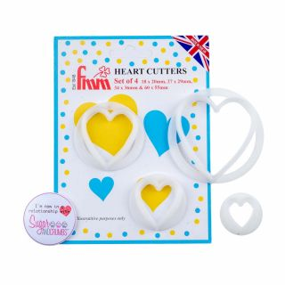 FMM Cutters HEARTS