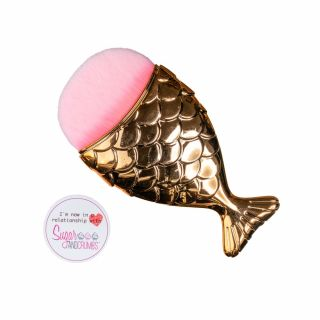 Brush Gold MERMAID TAIL