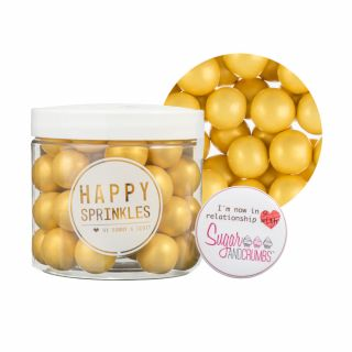 Happy Sprinkles GOLD Choco Crunch XXL 135g