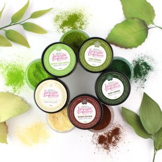 Immaculate Confections Gorgeous Greens Petal Dust Set