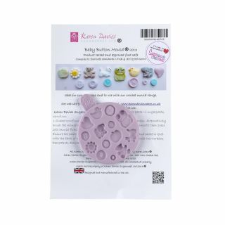 Karen Davies Silicone Mould Baby Buttons