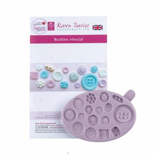 Karen Davies Silicone Mould BUTTONS