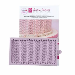 Karen Davies Silicone Mould Chunky KNIT