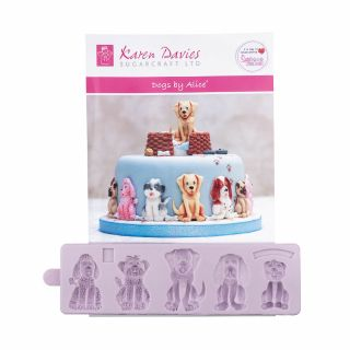 Karen Davies Silicone Mould DOGS