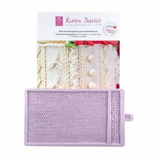 Karen Davies Silicone Mould Knitted Piece