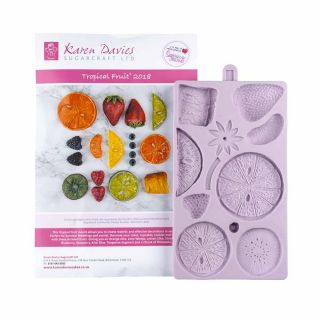Karen Davies Silicone Mould Tropical Fruits