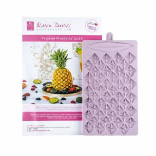 Karen Davies Silicone Mould Tropical Pineapple