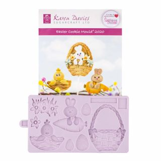 Karen Davies Silicone Mould Easter Cookie