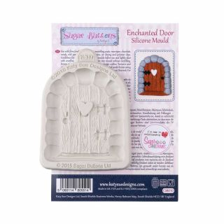 Katy Sue Sugar Buttons Silicone Mould ENCHANTED DOOR