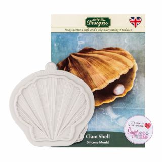 Katy Sue Silicone Mould CLAM SHELL