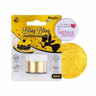 Magic Colours Bling Bling Glitter GOLD 10ml
