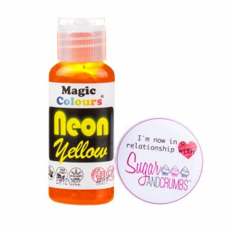 Magic Colours Gel NEON YELLOW 32g