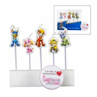 PAW Patrol 5 Character Candles