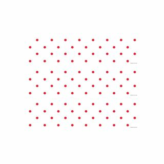 PhotoCake Strips CANDY CANE RED DOTS