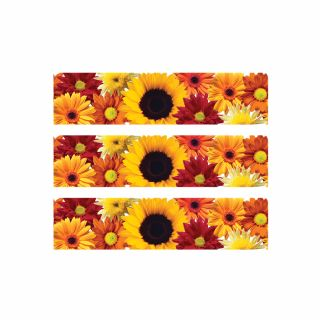 PhotoCake Strips FALL FLOWERS