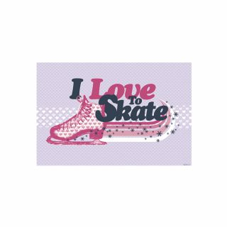 PhotoCake A4 I Love to Skate