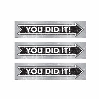 PhotoCake Strips MARQUEE YOU DID IT