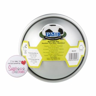 PME Professional Bakeware BALL Cake Pan 4 Inch Small