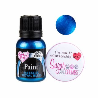 Rainbow Dust Paint METALLIC ROYAL BLUE