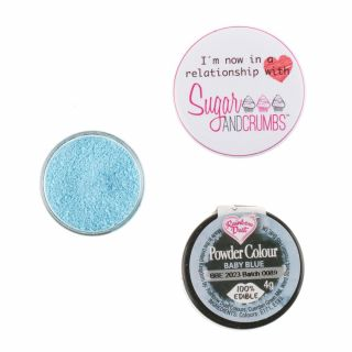 Rainbow Dust Matt Powder Colour BABY BLUE