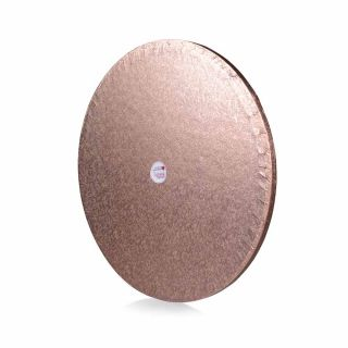 Cake Drum ROUND ROSE GOLD 14 Inch