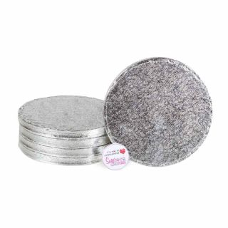 Cake Drum ROUND 07 Inch Pack of 5