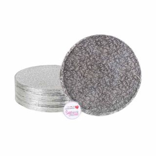 Cake Drum ROUND 08 Inch Pack of 5