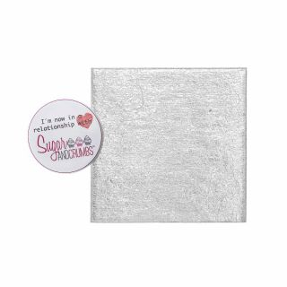 Cake Card Cut Edge SQUARE 03 Inch
