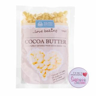 Squires Kitchen COCOA BUTTER  100g