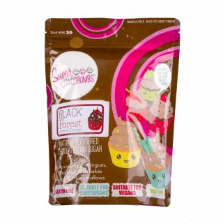 Sugar and Crumbs Natural Flavoured Icing Sugar BLACK FOREST 500g