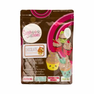 Sugar and Crumbs Natural Flavoured Icing Sugar CHOCOLATE HONEYCOMB 500g