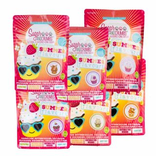 Sugar and Crumbs Summer Flavours Bundle Pack of 6