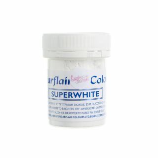 Sugarflair Icing Whitener - SUPERWHITE 20g